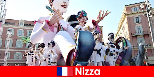 Atração turística em Nice com crianças e grandes destaques