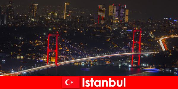 Vida noturna em pubs, bares e clubes de Istambul para jovens
