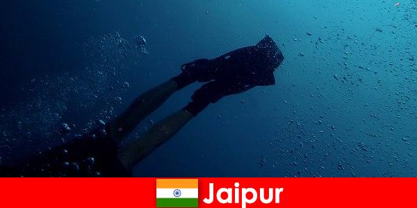 Os espor-tes aquáticos em Jaipur são a melhor dica para os mergulhadores