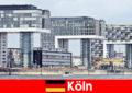 Arranha-céus imponentes em Colônia surpreendem estranhos