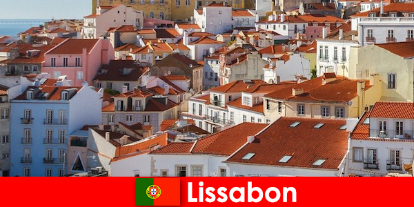 Lisboa é o principal destino turístico da cidade com sol de praia e comida deliciosa