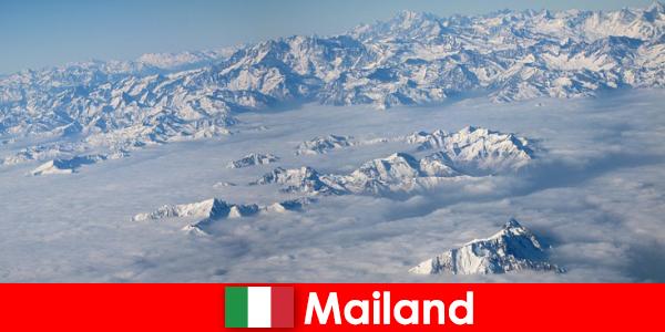Milão, uma das melhores estações de esqui para turistas na Itália