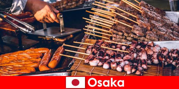 Osaka é a culinária do Japão e um por-to de escala para quem procura uma aventura de férias