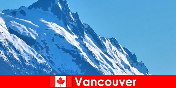 A cidade de Vancouver no Canadá é o principal destino do turismo de montanhismo