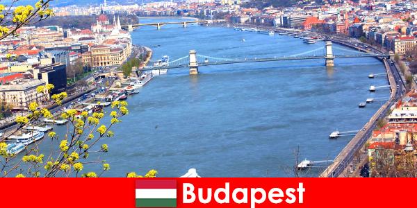Budapeste na Hungria é uma dica de viagem popular para férias de banho e bem-estar
