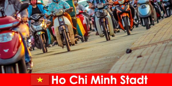 A cidade de Ho Chi Minh é sempre um prazer para ciclistas e entusiastas do esporte