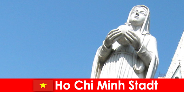 Centro econômico do Vietnã Cidade de Ho Chi Minh, um destino para estrangeiros
