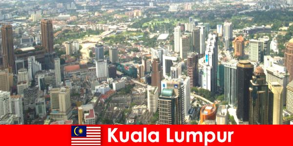 Kuala Lumpur, na Malásia, os amantes da Ásia vêm sempre aqui