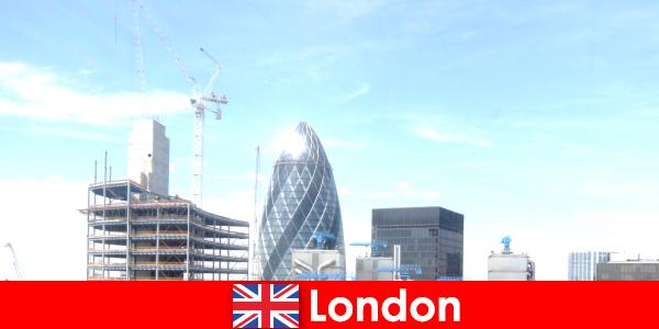 Pontos turísticos e atrações em Londres, da Inglaterra