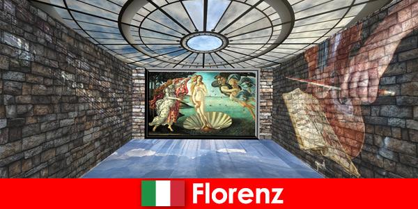 Viagem à cidade de Florença, Itália, para visitantes amantes da arte dos antigos mestres