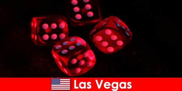 Viaje para o mundo brilhante de mil jogos em Las Vegas, Estados Unidos
