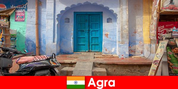 Viagem ao exterior para Agra Índia na vida de uma aldeia rural