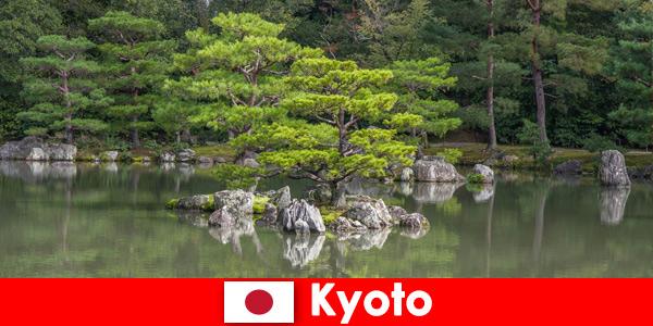 Os jardins japoneses convidam estrangeiros para caminhadas relaxantes em Kyoto