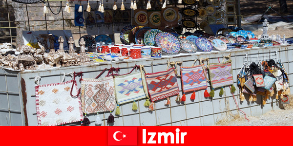 Experiência de passeio para estranhos nas áreas de bazar de Izmir, na Turquia