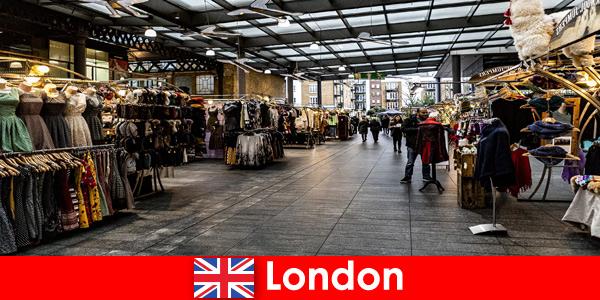 Londres, Inglaterra é o principal endereço para turistas de compras