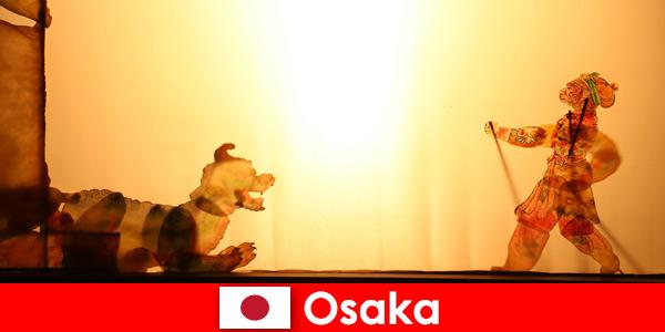 Osaka Japão leva turistas de todo o mundo em uma jornada de entretenimento cômico