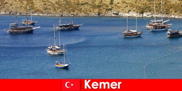 Viagem de aventura de barco em Kemer, Turquia para casais e famílias apaixonadas