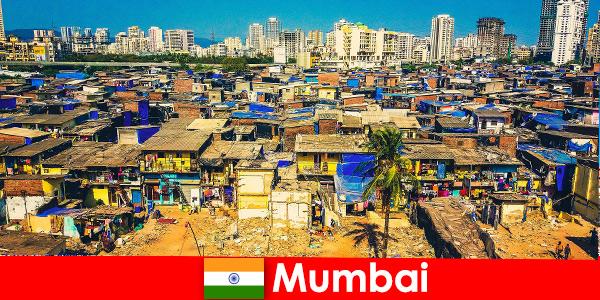 Em Mumbai, Índia, os viajantes experimentam os contrastes desta cidade maravilhosa