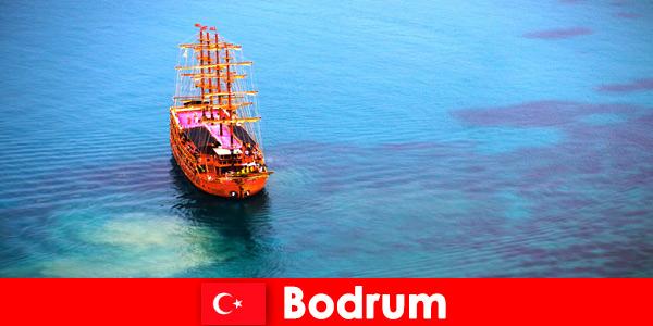 Viagem de clube para sócios com amigos na bela Bodrum, Turquia